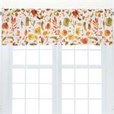 Watercolor Sketches Tailored Valances Ember Glow Set of Two