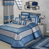 Beta Grande Bedspread Blue Shadow