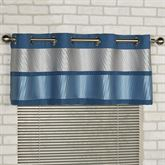 Beta Grommet Valance Blue Shadow 60 x 18