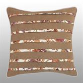 Delilah Pleated Pillow Multi Warm 16 Square