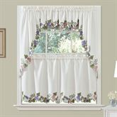 Cormons Vineyard Window Treatment Set Eggshell