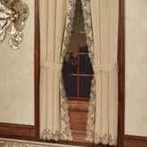 Florentina Curtain Pair Antique Gold 84 x 84