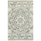 Moken Rectangle Rug Gray