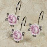 Michelle Shower Hooks White 12 Piece Set