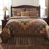 Prescott Patchwork Quilt Multi Warm