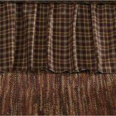 Prescott Gathered Bedskirt Multi Warm