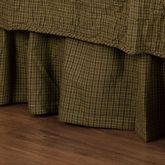Tea Cabin Gathered Bedskirt Multi Earth