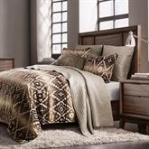 Chalet Mini Comforter Set Multi Earth