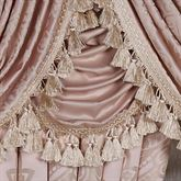 Princess Solid Blush Waterfall Valance 52 x 30