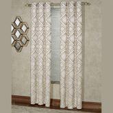 Summit Grommet Curtain Pair Parchment 84 x 84