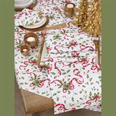 Holiday Charm Tablecloth Red/Green