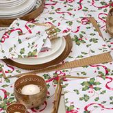 Holiday Charm Placemats Red/Green Set of Four