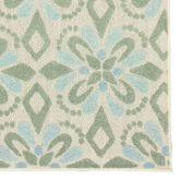 Geometric Floral Rug Runner 110 x 76