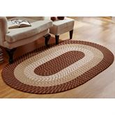 Country Braid Oval Rug