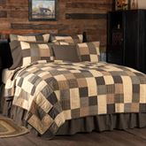 Kettle Grove Patchwork Mini Quilt Set Multi Warm
