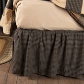 Kettle Grove Plaid Gathered Bedskirt Multi Warm