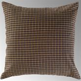 Kettle Grove Plaid Tailored Pillow Multi Warm 16 Square
