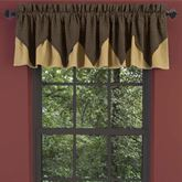 Kettle Grove Layered Valance Multi Warm 72 x 16