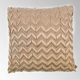 American Beauty Chevron Tailored Pillow Multi Warm 18 Square