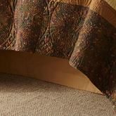 Cabin Raising Tailored Bedskirt Auburn