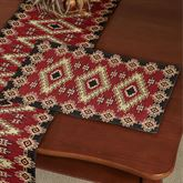 Red River Placemats Burgundy Set of Four