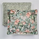 Catalina Reversible Flanged Sham Seagrass