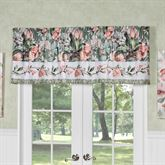 Catalina Embroidered Valance Only Seagrass 72 x 18