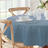 Classic Plaid Oval Tablecloth 60 x 84