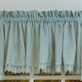Lavonia Semi Sheer Tailored Valance 56 x 14