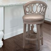 Wren Swivel Bar Stool Gray Bar