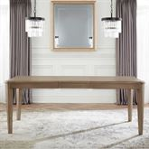 Hollace Rectangle Dining Table Only Taupe Sand
