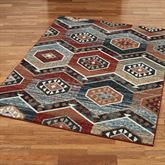 Sakarian Rectangle Rug Multi Warm