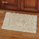 Bellflower Rectangle Bath Rug 24 x 17