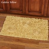 Bellflower Rectangle Bath Rug 34 x 21