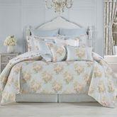 Hilary Floral Comforter Set Pale Blue
