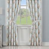 Hilary Tailored Curtain Pair Pale Blue 82 x 84