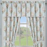 Hilary Tailored Valance Pale Blue 72 x 17