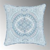 Claremont Reversible Piped Pillow Powder Blue 16 Square