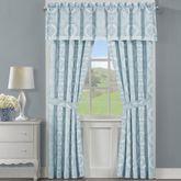 Claremont Tailored Curtain Pair Powder Blue 82 x 84