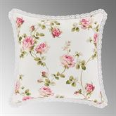 Rosemary Reversible Floral Pillow Blush 16 Square
