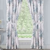 Estelle Tailored Curtain Pair Pale Blue 82 x 84