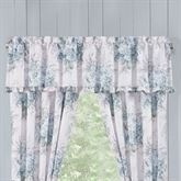 Estelle Ruffled Valance Pale Blue 72 x 17