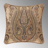 Luciana Damask Pillow Multi Warm 20 Square