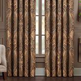 Luciana Wide Curtain Pair Multi Warm 100 x 84