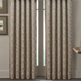 Cracked Ice Wide Curtain Pair Light Taupe 100 x 84