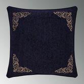 Taormina Reversible European Sham Midnight Blue