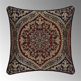 Taormina Piped Woven Pillow Multi Warm 20 Square