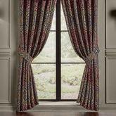 Taormina Lined Wide Curtain Pair Multi Warm 100 x 84