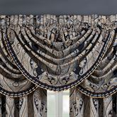 Luciana II Waterfall Valance Denim 49 x 33