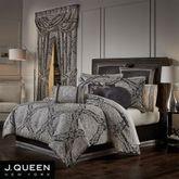 Vera Comforter Set Black